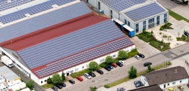 gama blend goes green with solar panel snapshot