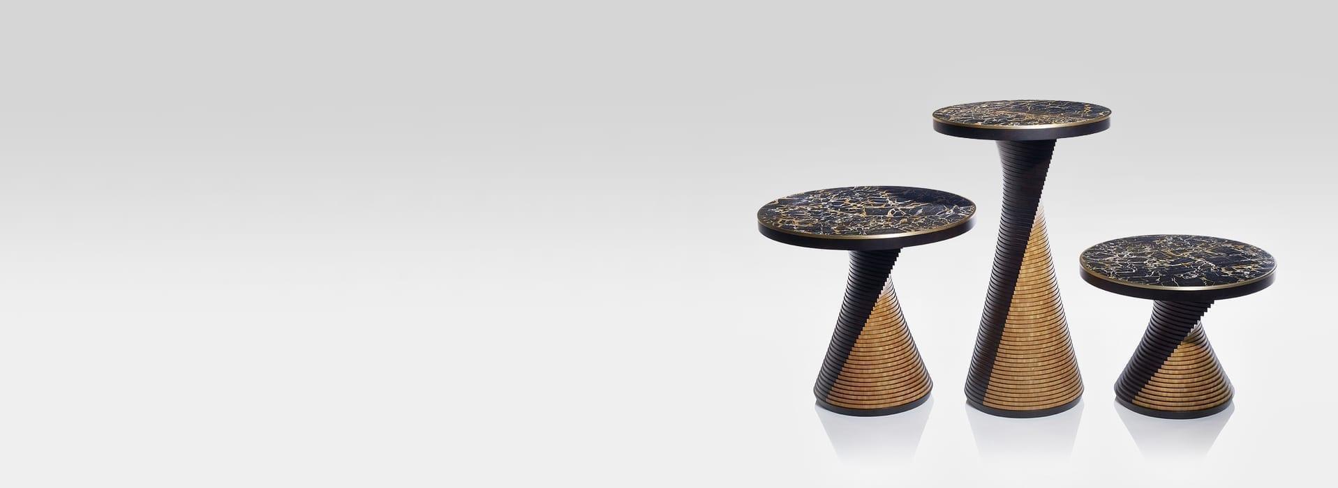 lightweight stone furniture at grama blend uk