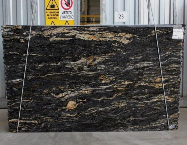 shot of black cosmic stone from grama blend uk