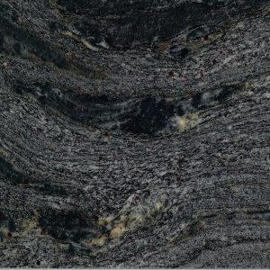 black cosmic granite close up from grama blend uk