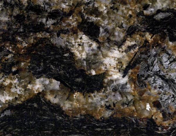 black tourus granite close up from grama blend uk