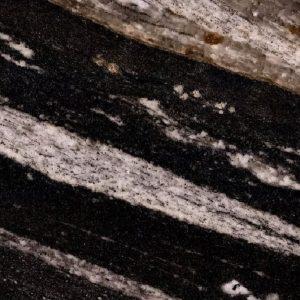 close up shot of zerba black stone from grama blend uk