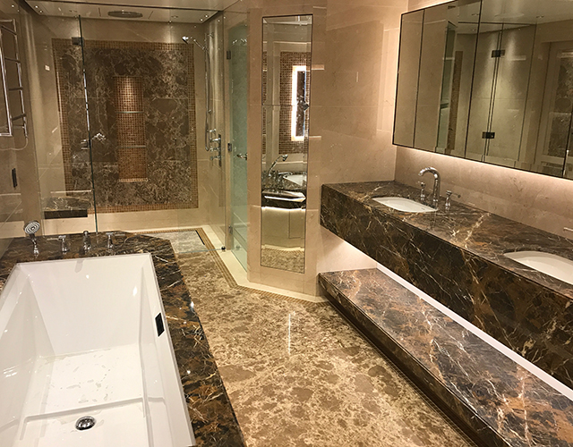 grama blend uk stone with yacht interior applications