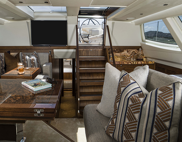 grama blend uk stone used for a yacht interior